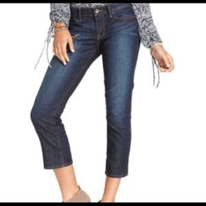 Lucky Brand Lola Ankle Crop Jeans (30)